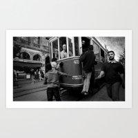 """Istanbul - """"Taksim"""" Art Print"""