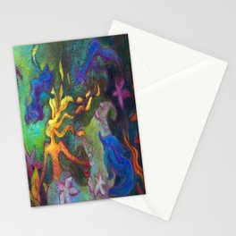 Hestia & The Mermaid PILLOW/SHOWER CURTAIN #B Stationery Cards