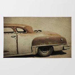 Rusty Chrysler De Soto Rug