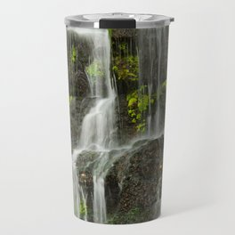 Ho Opi'i Waterfall  Travel Mug