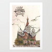 Moscow II Art Print