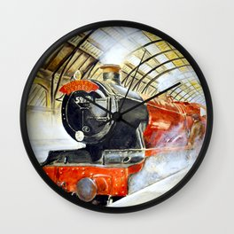 Platform 9 3/4 Wall Clock