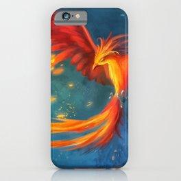 Beautiful phoenix iPhone Case
