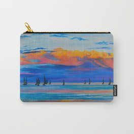 I'd Rather Be Sailing by Teresa Thompson Carry-All Pouch