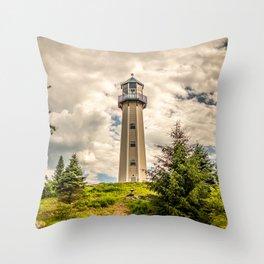 Lighthouse Standing Tall Throw Pillow