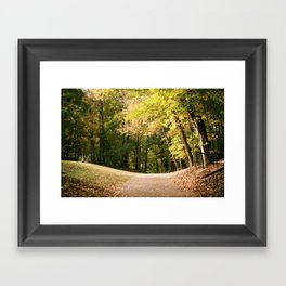 Autumn in Wisconsin Framed Art Print