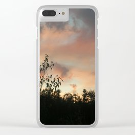 American Tramonto Clear iPhone Case