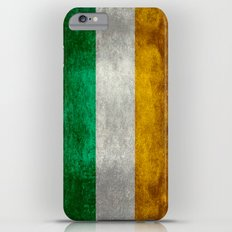 Flag of the Republic of Ireland - Vintage Version iPhone 6 Plus Slim Case