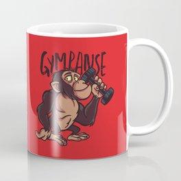 Gympanzee Cartoon Coffee Mug