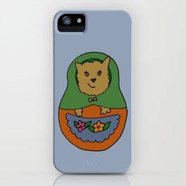 Piptroyshka iPhone Case