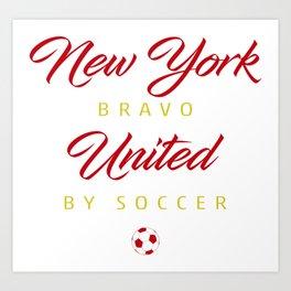 New York Bravo Art Print