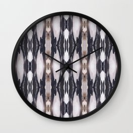 Marble Marquetry Wall Clock