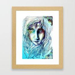 Lost senses  Framed Art Print