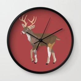 Rudolph Wall Clock