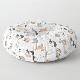 bunnies Floor Pillow