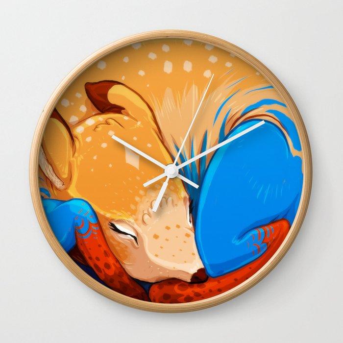 Foal Wall Clock