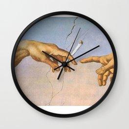 God's Rotation Wall Clock