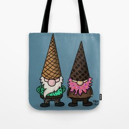 Ice Cream Gnomes Tote Bag