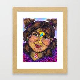 Wisdom Keeper Color #11 (Idealism) Framed Art Print