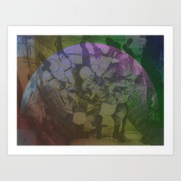 Requirements in the Space Art Print