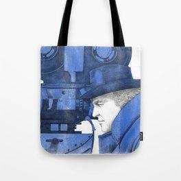 "Fellini ""blue"" Tote Bag"