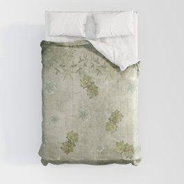 Sage Green Wallflowers Comforters