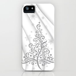 Christmas background iPhone Case