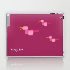 Happy Bird-Pink Laptop & iPad Skin