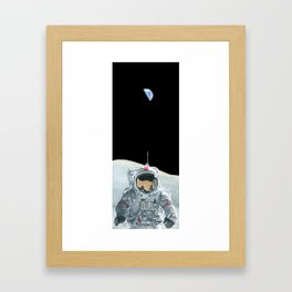 Home Planet Framed Art Print