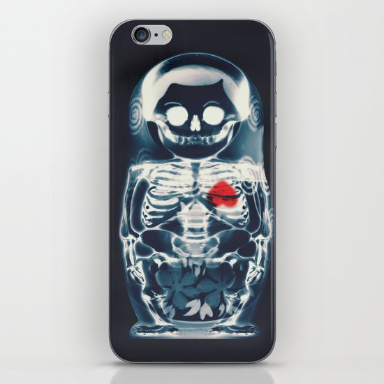 Nesting Doll X-Ray iPhone & iPod Skin