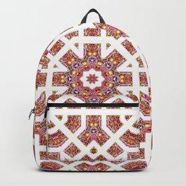 Geometrical Star Pattern Backpack
