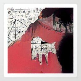 Bovem mathematica ignis Art Print