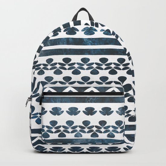 Ethnic pattern with watercolors Backpack