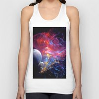 medusa Tank Tops featuring Medusa by Art-Motiva