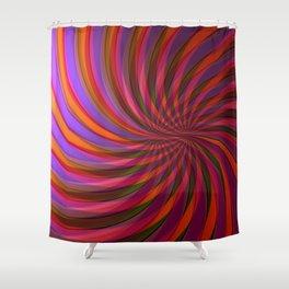 fringe pattern Shower Curtain