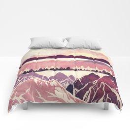 Burgundy Hills Comforters