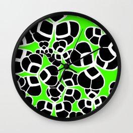 "Koloman (Kolo) Moser ""Textile pattern (Cloverleaf / Shamrock)"" (3) Wall Clock"