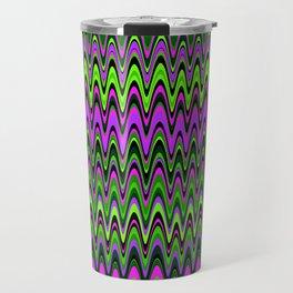 Making Waves Neon Lights Travel Mug