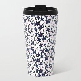 Dark Floral Travel Mug