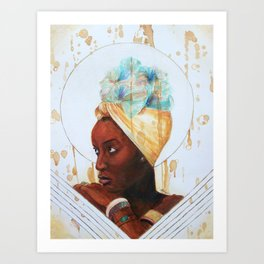 'AFROPENZI' Art Print