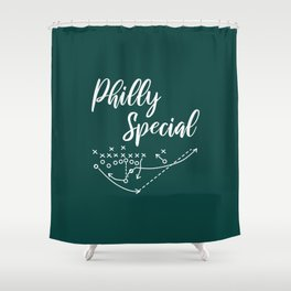 Philly Special Shower Curtain