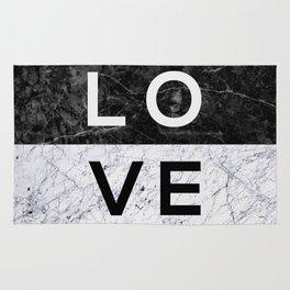 Love B&W Rug