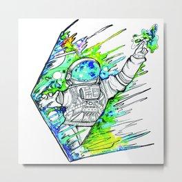 Space Cadet Metal Print