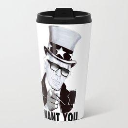 """Karl """"I want you!"""" Travel Mug"""