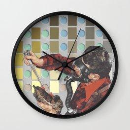 Munsell Soil Color Chart 3 Wall Clock