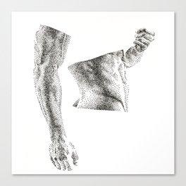 Bruce - Nood Dood Canvas Print