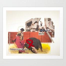 Twilight of the Matador Art Print