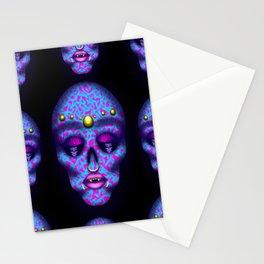 Pierced Skull 2 Stationery Cards