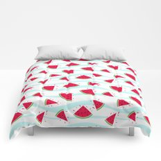 Watermelon pattern . Retro . Comforters