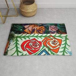 A Rose Is A Rose Is... Rug